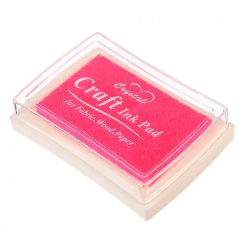 Штемпельная подушечка Розовая фото