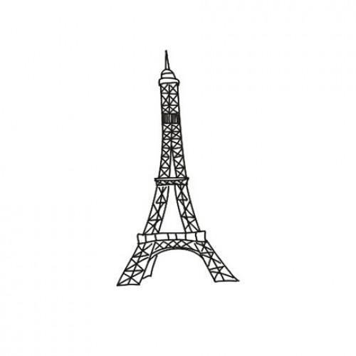 "Штамп ""Эйфелевая башня"" ТМ CHERRYLANA фото"