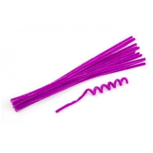 Синельная проволока Фиолетовая фото