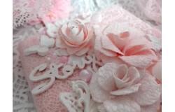 Мастер-класс: как сделать ажурные розы из ткани и бумаги.