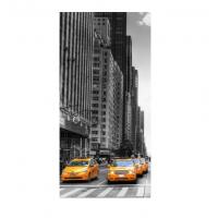 Плакат для фотозоны (Такси в Нью-Йорке) 1.2х0.5 м