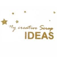 """Надпись из термотрансферной пленки """"My creative scrap ideas"""""""