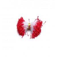 Перламутровые тычинки тонкие Красные, 50 шт