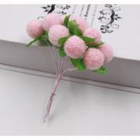 """Добавка в букет """"Шарик розовый"""", 18 мм"""