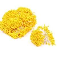 Перламутровые тычинки Желтые, 50 шт