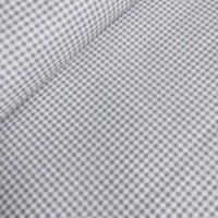 Ткань хлопок Клетка серого цвета, 40*50 см