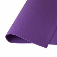 Фетр жесткий Фиолетовый, 21*30 см