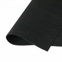 Фетр жесткий Черный, 21*30 см
