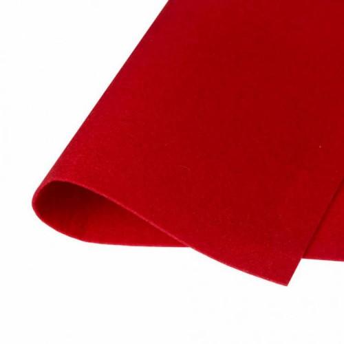Фетр жесткий Красный фото