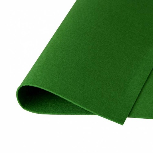 Фетр жесткий Травяной фото