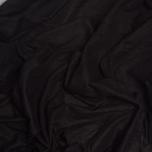 Ткань флис Черный фото