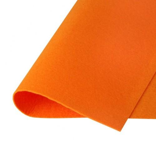 Фетр жесткий Оранжевый фото
