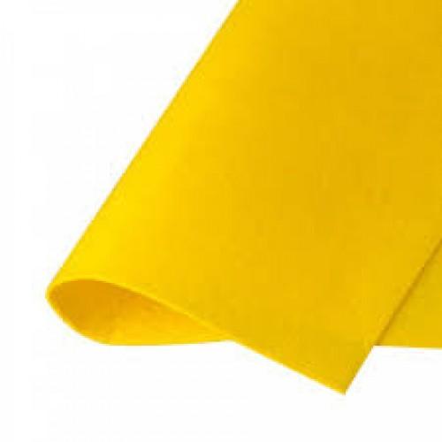 Фетр жесткий Желтый фото