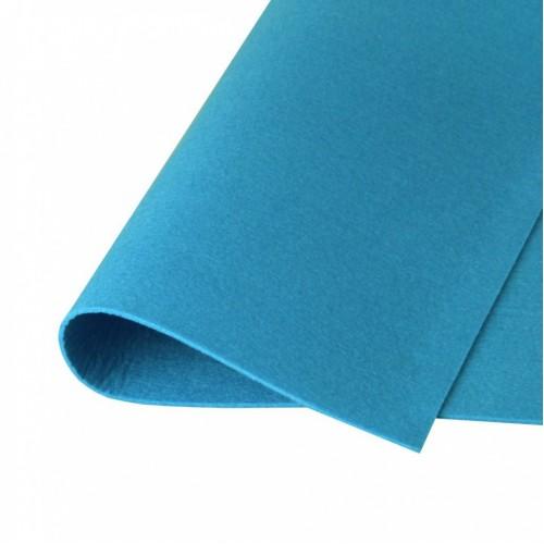 Фетр жесткий Синий, 21*30 см
