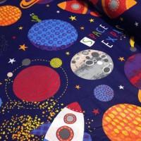 Ткань хлопок Космос, 40*50 см