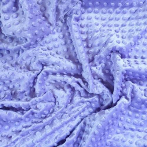 Плюш Minky светло-фиолетовый фото