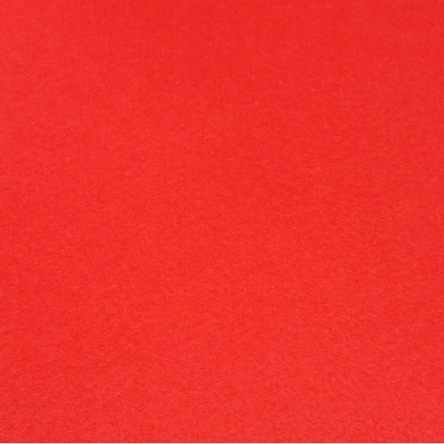 Фетр корейский жесткий 1.2 мм, 20x30 см, красный