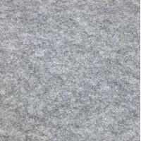 Фетр корейский жесткий 1.2 мм, 20x30 см, серый меланж
