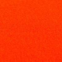 Фетр корейский жесткий 1.2 мм, 20x30 см, темно-оранжевый