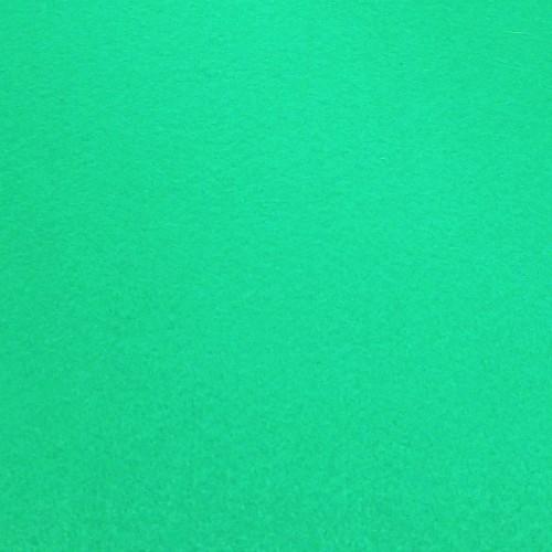 Фетр корейский жесткий 1.2 мм, 20x30 см, темно-мятный