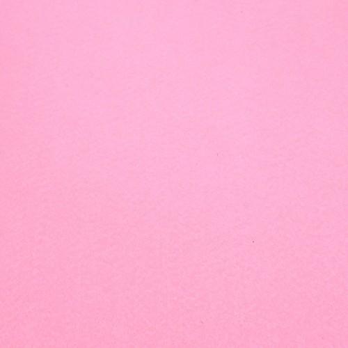 Фетр корейский жесткий 1.2 мм, 20x30 см, нежно-розовый