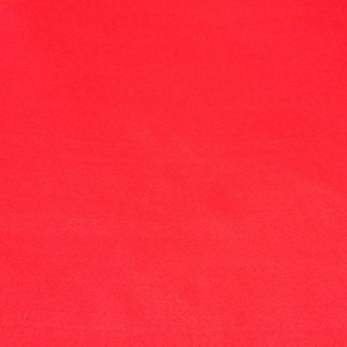 Фетр корейский мягкий 1.2 мм, 20x30 см, красный