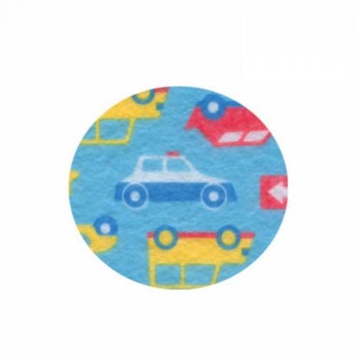 Фетр листовой с рисунком Автопарк ROSA TALENT фото