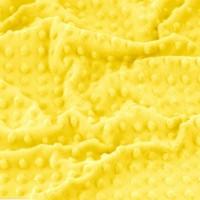 Плюш Minky Желтый, 40*50 см