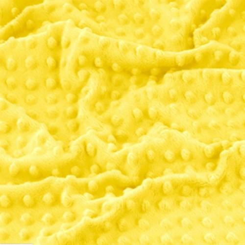 Плюш Minky желтый