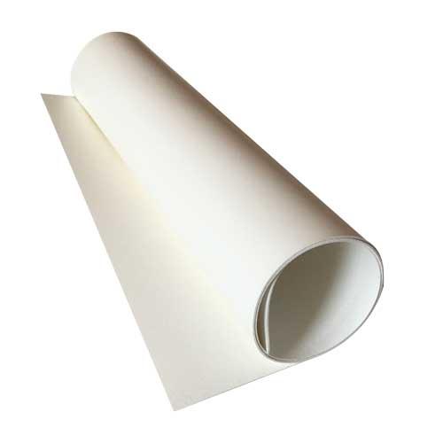 Отрез кожзама glossy white, размер 70 см х 25 см