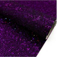 Экокожа квадратики Фиолетовая, 20х30 см