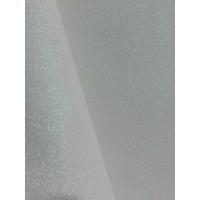 Экокожа с мелким глиттером Белая, 20х30 см