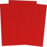 Фетр жесткий Красный SANTI, 21*30 см