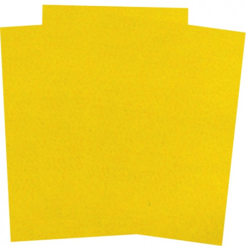 Фетр жесткий Желтый SANTI фото