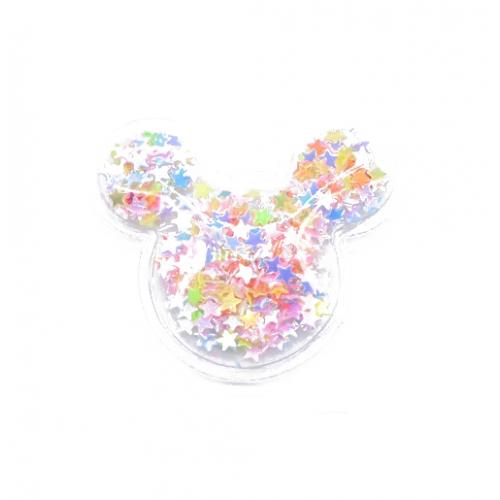 Патч силиконовый Микки Маус со звездами Микс, фото