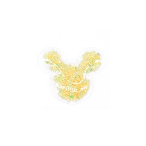 Патч силиконовый Микки Маус со звездами Желтый, фото