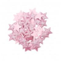 Патч Звезда розовая, 3х3 см
