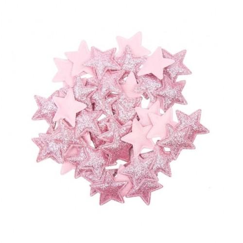 Патч Звезда розовая фото
