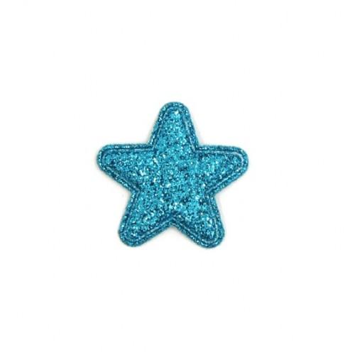Патч Звезда голубая, 2,4х2,4 см