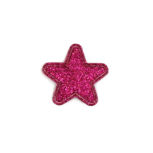 Патч Звезда малиновая, 2,4х2,4 см