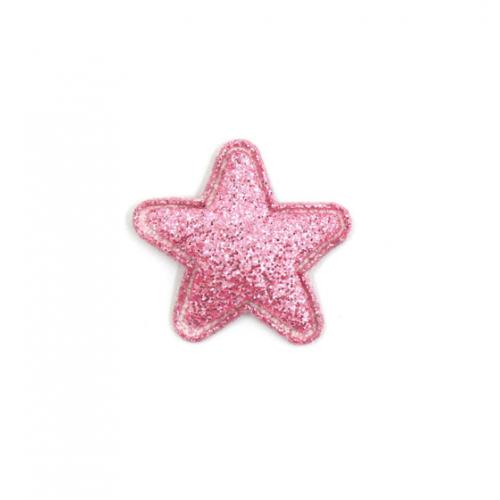 Патч Звезда розовая, 2,4х2,4 см