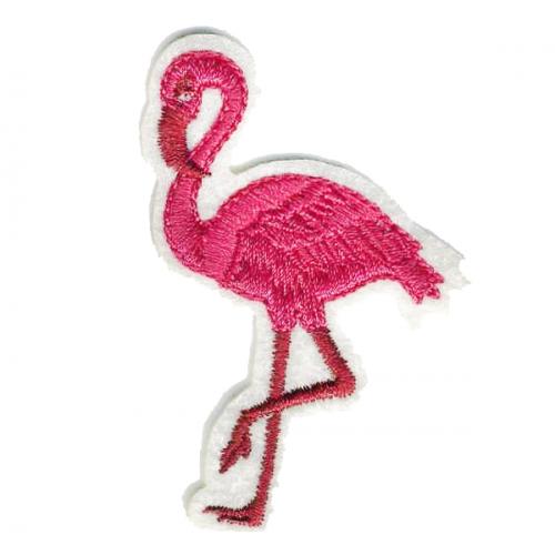 Термоапликация клеевая Фламинго, фото