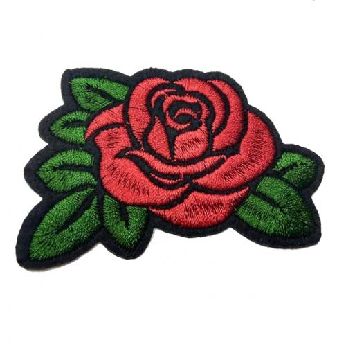 Термоапликация клеевая Роза, фото