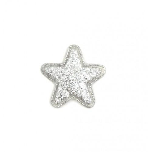 Патч Звезда серебро, 2,4х2,4 см