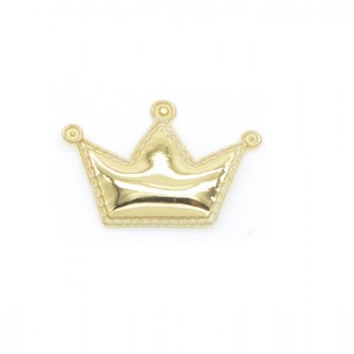 Патч лаковый Корона золотая