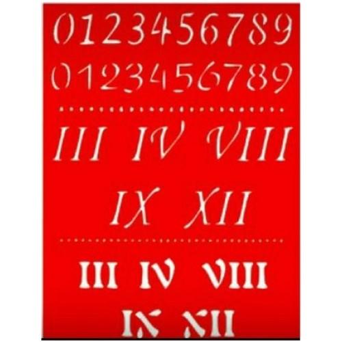 Трафарет Цифры-2, 20x15 см