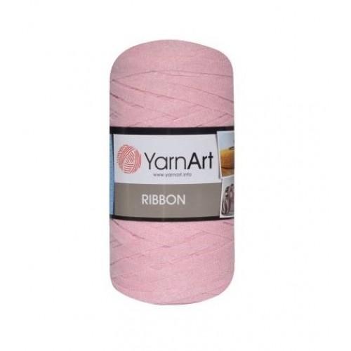 Трикотажная пряжа YarnArt Ribbon Розовый №762, 250 г