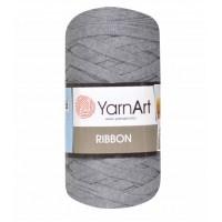Трикотажная пряжа YarnArt Ribbon Серый №774, 250 г