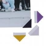 Самоклеющиеся уголки для фото Разноцветные фото