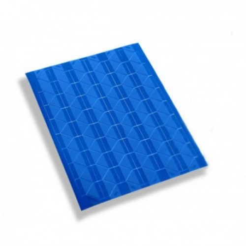 Самоклеющиеся уголки для фото Синие, 102 шт